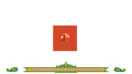 PowerPoint template download button