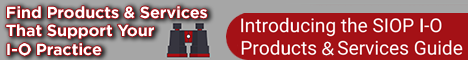 I-O Products and Services banner