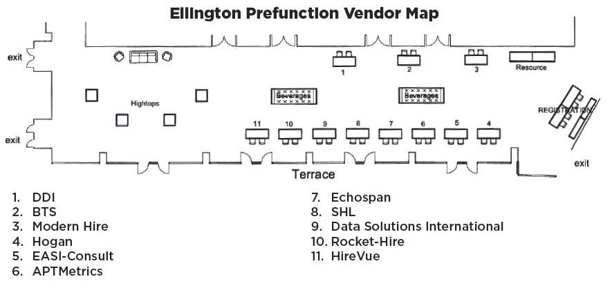 Vendor Experience Floorplan